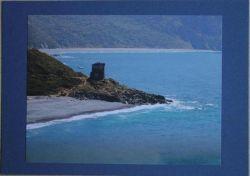 Fotokarte-Leuchtturm-im-Meer