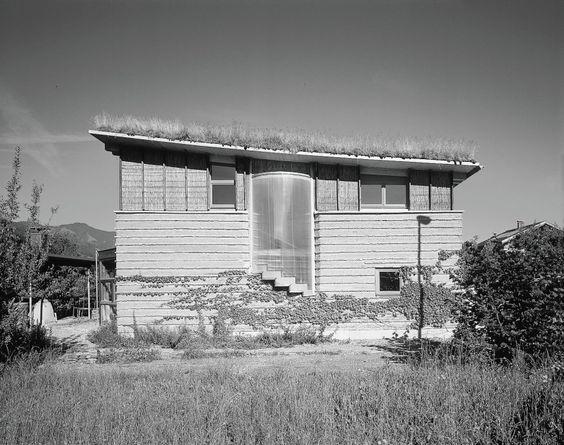 Studio Rauch in Rammed Earth in Schlins, Vorarlberg, Austria by Architect Martin Rauch