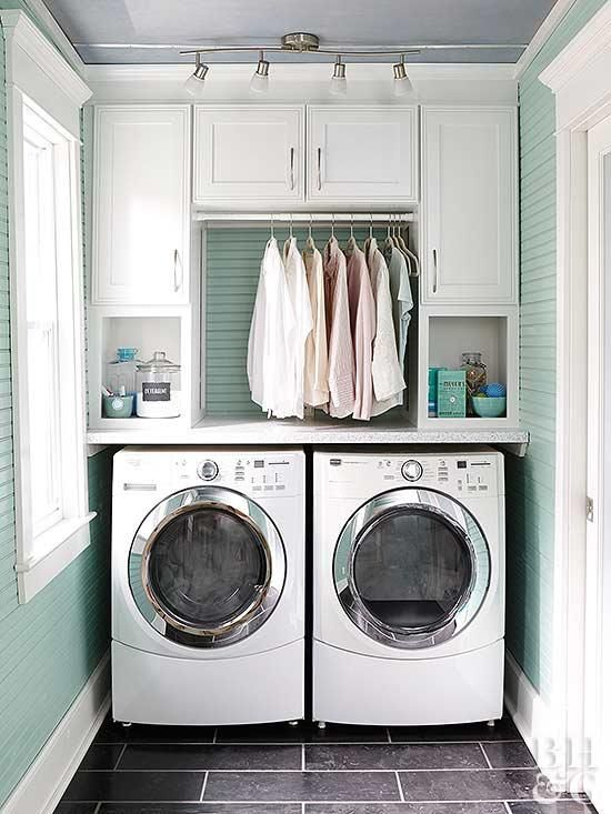 Stylish Efficient Laundry Room Ideas Small Laundry Rooms