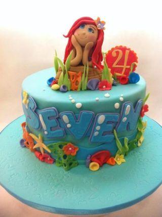 Ariel Dreaming Cake (Seven)