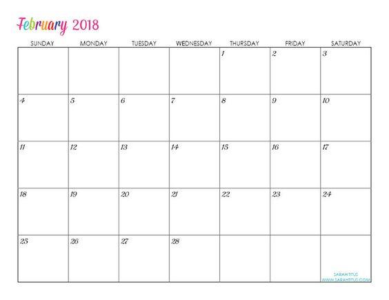 custom editable free printable 2018 calendar free printable calendar your life and organize