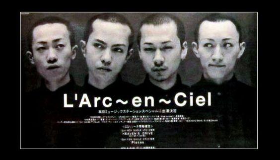 坊主L'Arc〜en〜Ciel