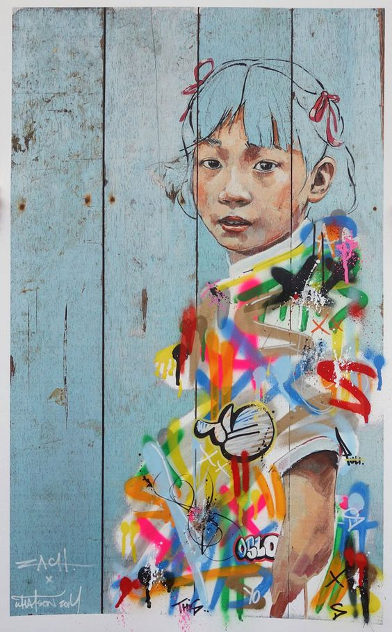 Fascinating Street Art by Ernest Zacharevic - atelierdeveil.com: