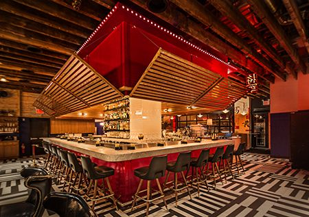 The General Restaurant - New York: Design Magazine, Restaurant Design, Design Ii, Chef Hung, Design Retail, Cafe Restaurant, Design Restaurants, Commercial Hospitality Design