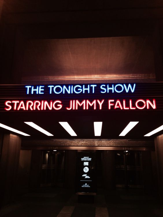 A great NYC experience for a Tourist-- How to get tickets to the Tonight Show Starring Jimmy Fallon.