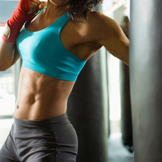 Angry Punching Bag Workout for Stress Releasing