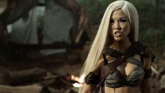Selina Lo es Tsukai en El rey escorpion 3 - La batalla por la redencion