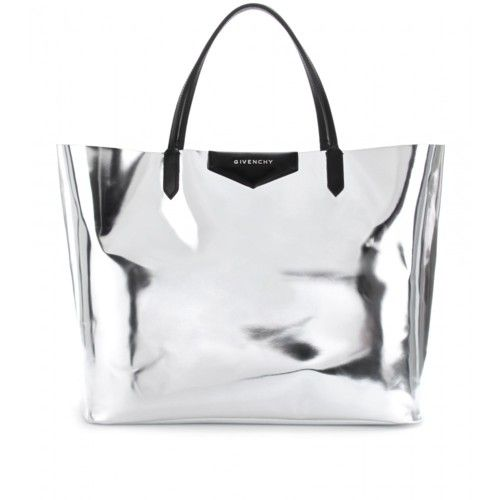 metallic givenchy tote. More Style, Silver, Replica Handbags, Bags Ladies, Metals Leather, Fashion Handbags, All, Givenchy Bags, While Givenchy Antigona Metallic Leather Shopper Tote Givenchy Silver Tote Givenchy bag - You2 Style - essential details - Givenchy LOOOOVE