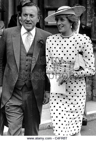 Princess Diana with David Frost take an imromptu walk through the streets of…
