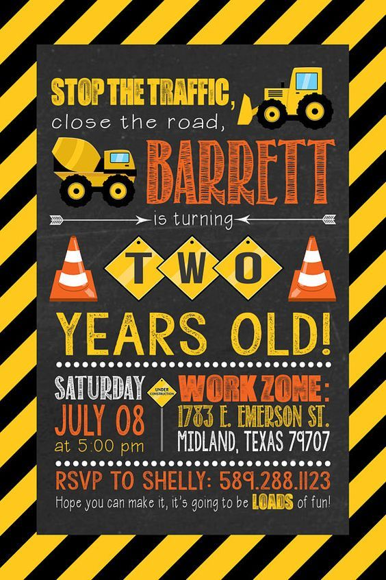 CONSTRUCTION PARTY BOYS BIRTHDAY TABLEWARE DIGGERS TRUCKS YELLOW WORK ZONE