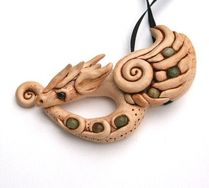 Polymer Clay Chameleon: INSPIRED