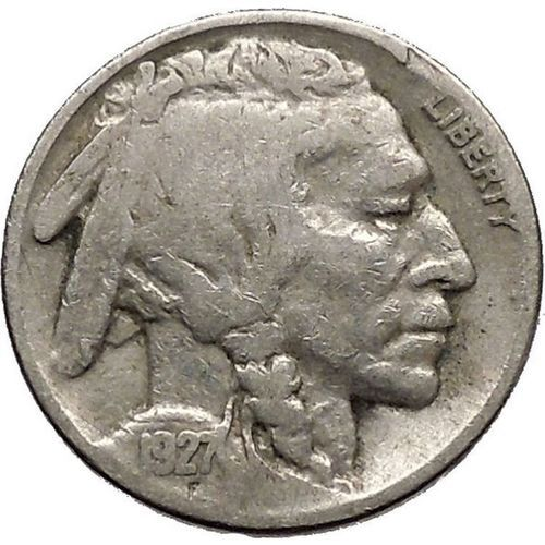 1927 Buffalo Nickel 5 Cents Of United States Of America Usa Antique Coin I43695 On Ebid United States 174604821 In 2020 Antique Coins Ancient Coins Buffalo Nickel