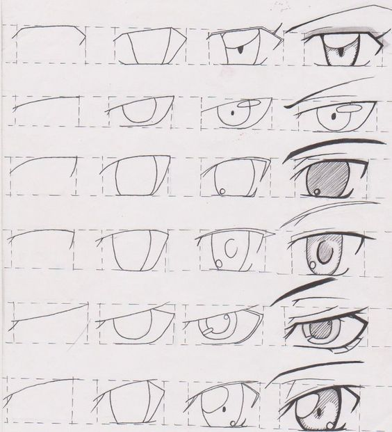 ¿Cómo dibujar ojos? Van a pastelería Tutorial Male Eyes 01 by FutagoFude-2insROID.deviantart.com on @deviantART