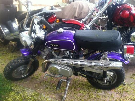 Gemini SST50 Very rare Taiwanese mini trail style mini bike from the ...
