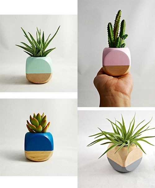 modern wood planters - Google Search