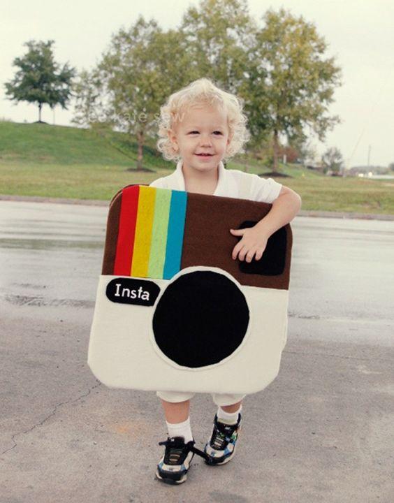 instagram Halloween Costume  + more homemade costume ideas