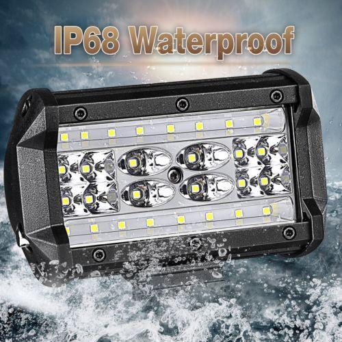 2pcs 5 3000k Cree Led Work Light Bar Flood Spot Pods Driving Off Road 4wd 12v Ebay Led Work Light Cree Led Work Lights