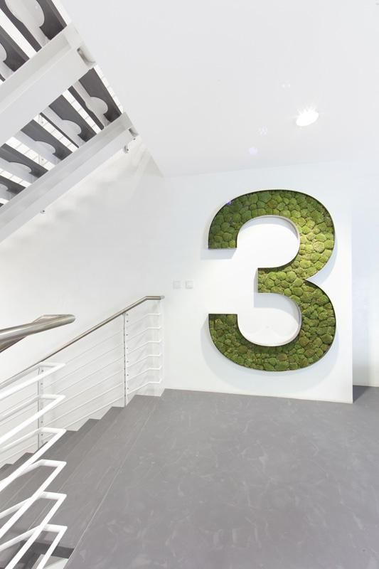 VRTIŠKA • ŽÁK has designed a new office for multinational investment group KKCG - great use of greenery!