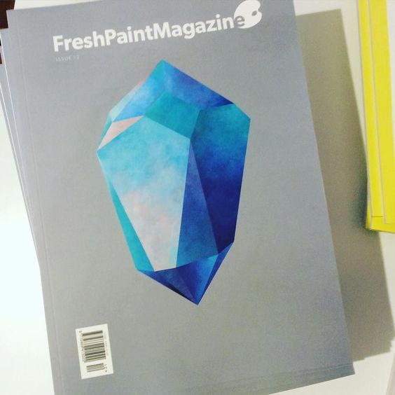 We've just got Issue 12 of the very motivating @freshpaintmag. We keep all recent back issues because this one is just building and building for us. File beside the outstanding @TurpsBananaMag & @latpainting #freshpaint #painting #art #artist #painter #inspiration #medium #sculpture #photography #mixedmedia #curate #rebeccachaperon #adamlee #nickarcher #wandabernardino #otherartfair #sorensejr #daleadcock #andrewsalgado