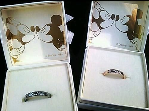 Mickey Minnie Wedding Rings Disney Love Hily Ever After Pinterest