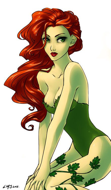 Poison Ivy. This is a simple and sexy look that I think I could pull off...attach some ivy vines to green dyed stockings, dye my arms, back, chest, and face...get an auburn wig...hmm...