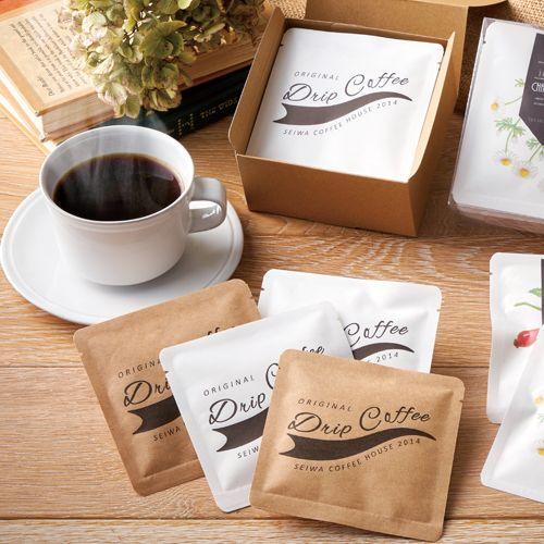 ドリップコーヒー クラフト パッケージ コーヒーのパッケージ パッケージデザイン お菓子 ラッピング
