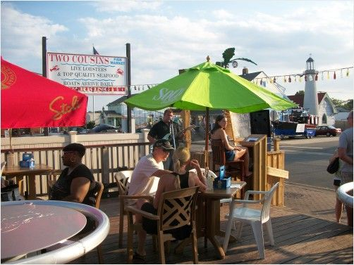 Hanging at the Tiki bar while listening to a one man band.: People Places, Man Band, Tiki Bars, Photo
