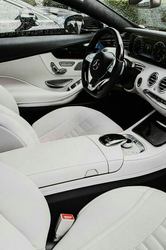Mercedes S63 AMG - White with a class