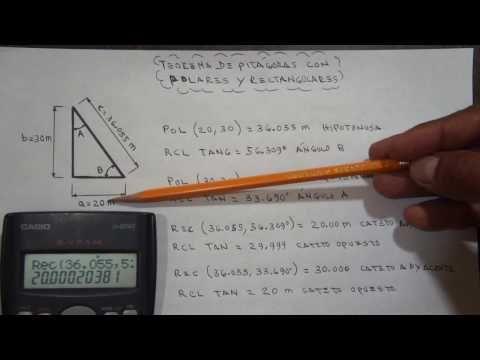 El Teorema De Pitágoras Con Polares Y Rectangulares Youtube Teorema De Pitagoras Youtube Artesanias
