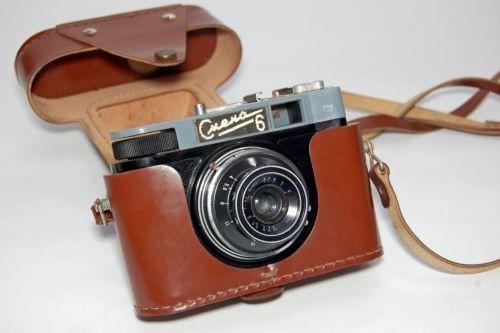SMENA 6 Vintage Soviet Russian LOMO 35mm camera