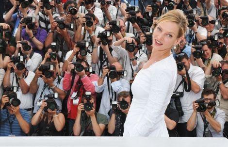 Uma Thurman - Cannes 2011