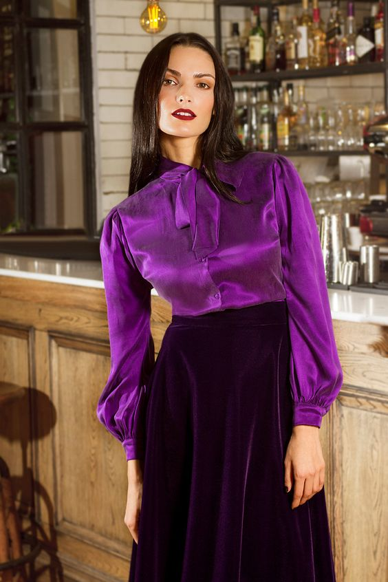 Trendy Satin Blouses