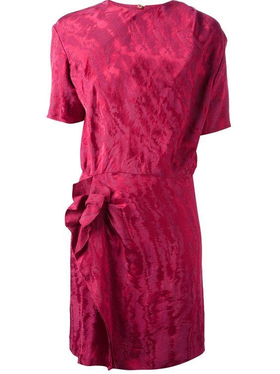 'Yann moire' mini dress