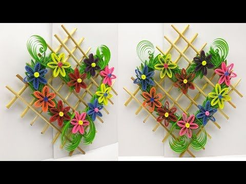 Diy Paper Quilling Quilled Wall Hanging Hanging For Room Decor