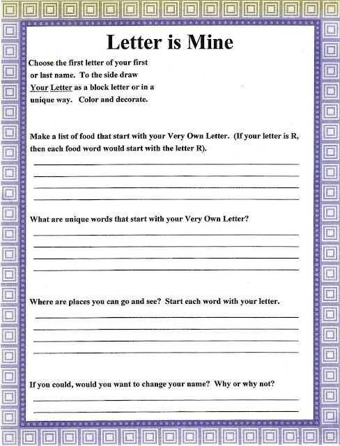 Printables Printable Self Esteem Worksheets children worksheets and self esteem on pinterest older can build by filling out this worksheet celebrating their special letter