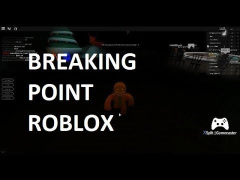Braking Point Roblox Ft Dancing Ginger Bread Man With Images