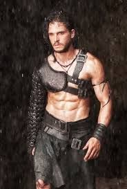 Season 4 Rich with Leather Costumes ... Jon Snow