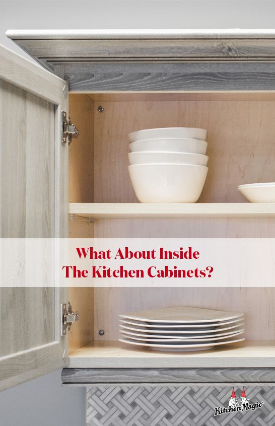 What About Inside The Kitchen Cabinets Refacing Kitchen