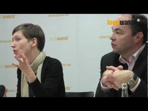 foodwatch-Pressekonferenz Kinderlebensmittel