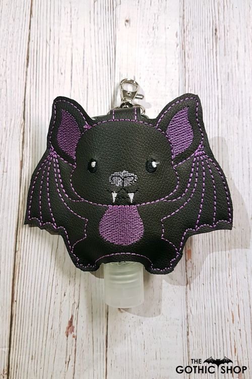 Vampire Bat Hand Sanitiser Gel Lotion Holder Medium