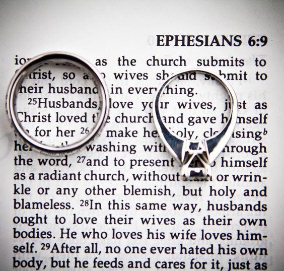 Ephesians 5:25 Ring Shot   Wedding Photography to Inspire