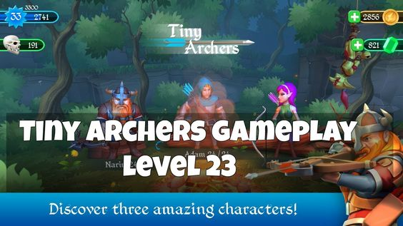 Watch Online Tiny Archers Day 23 Gameplay  - How to Play [Android/iOS] Gameplay
