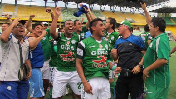 Los Caimanes ascendió a Primera División. #depor