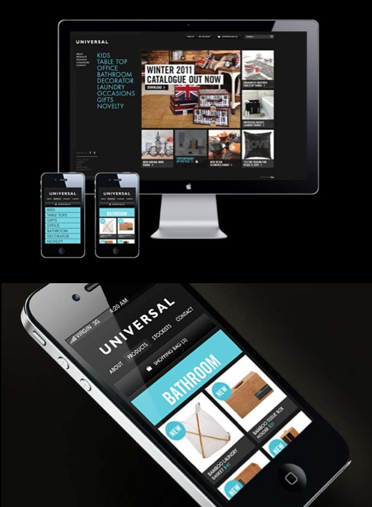Universal  Website & Mobile Interface
