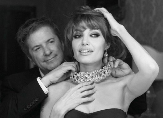 Angelina Jolie has worked with Robert Procop before on charity jewelry designs.