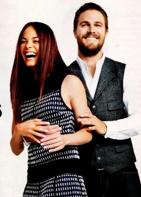 Kristin Kreuk and Stephen Amell (#arrow) #BATB | Kristin ...