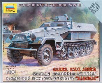 ZVE6127 - 1/100 Sd.Kfz.251/1 Ausf.B. 1/100 Sd.Kfz.251/1 Ausf.B