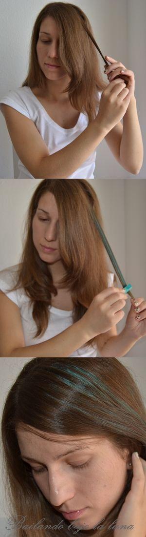 Tizas de colores para el pelo