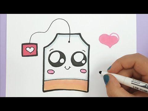 Kawaii Teebeutel Selber Malen Einfach Youtube Selber Malen Susse Bilder Zeichnen Kawaii Malen