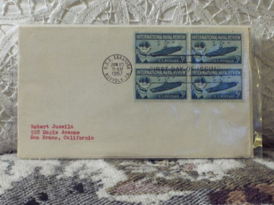 http://ajunkeeshoppe.blogspot.com/  First Day Issue/Cover-Stamp-International Naval Review 1957 8ozP725B4HP1163